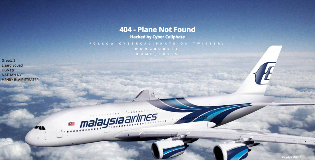 malaysia-airlines-website-hacked-by-isis-cyber-caliphate-hackers