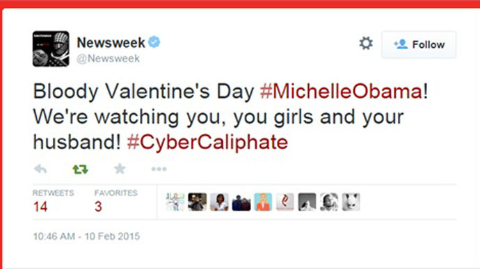 newsweek-magazines-twitter-account-hacked-by-pro-isis-hackers