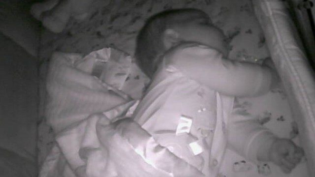 "Mom discovers baby monitor is hacked, telling child to ""stay in bed"""