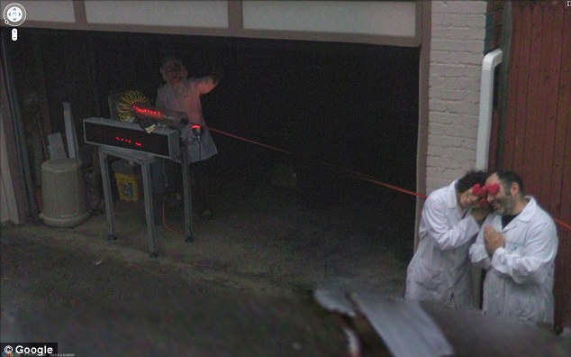 80 Funny Creepy Strange Disturbing Google Street View