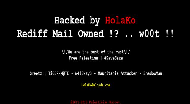 indian-online-portal-rediff-hacked-by-palestinian-hacker