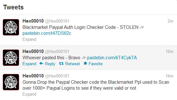 BlackMarket Credit Card Dealer website Hacked & Data leaked