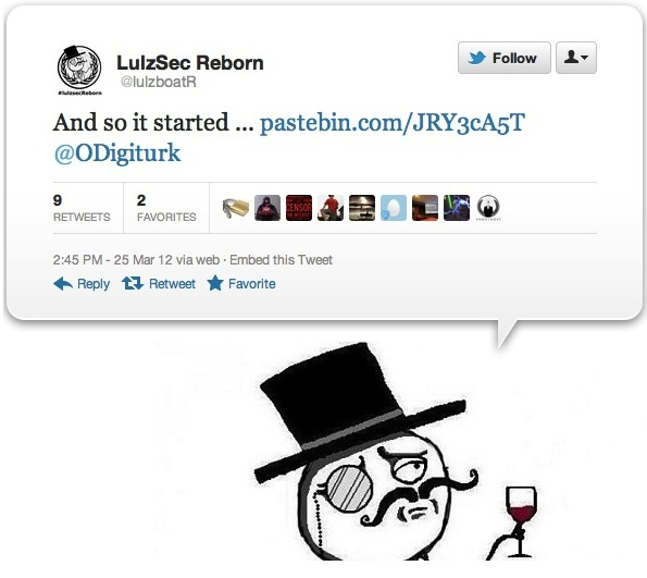 LulzSec Returns as US military dating website hacked and 170,000