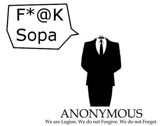 Anonymous Launch Massive Attacks on Department of Justice & other US Government Websites