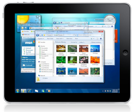Now Use Windows 7 On iPad via Streaming with OnLive's App for Free