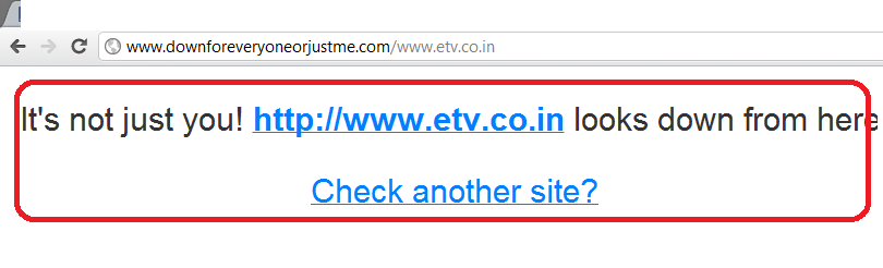 ETV India website taken offline by Bangladesh Black HAT Hackers