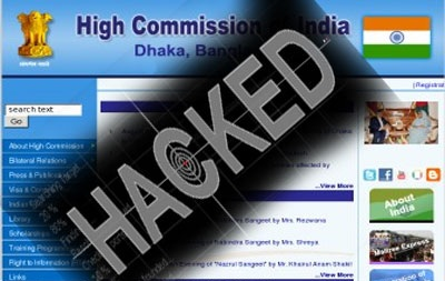 High Commission of India in Dhaka website hacked and Confidential info leaked by Z Company Hacking Crew (ZHC)