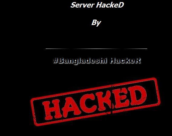 1000 Indian Websites hacked by Bangladeshi Hackers Including NDTV & Government sites