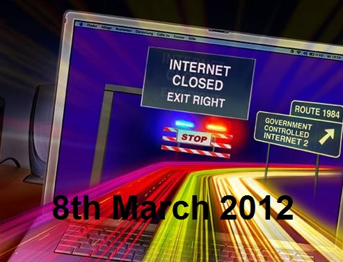 Internet to be shutdown by FBI on 8th March 2012?