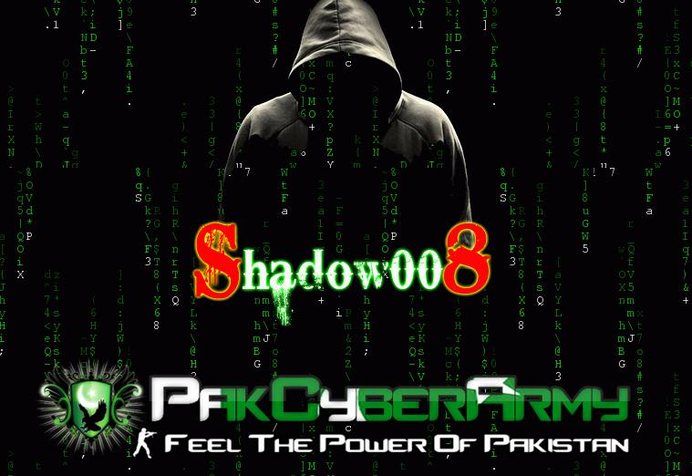2,000 + Indian Websites Hacked By Shadow008 & H4x0rL1f3