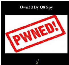 Six Automotive Giants: FORD, KIA, Subaru, Suzuki, Kawasaki, SsangYong Hacked and Defaced by Q8 Spy