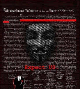 Message from Anonymous to the U.S Government regarding #OWS