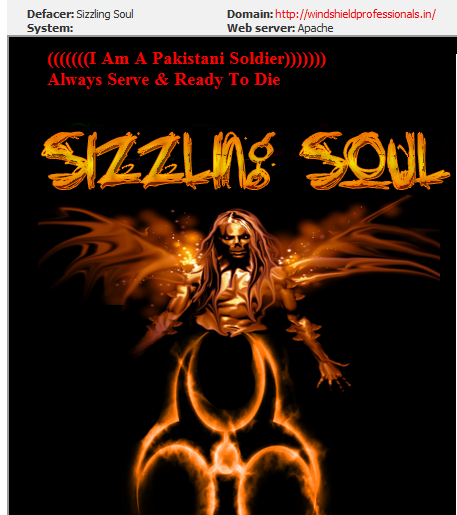 50+ Indian Websites Hacked By P@KhTuN~72 & Sizzling Soul