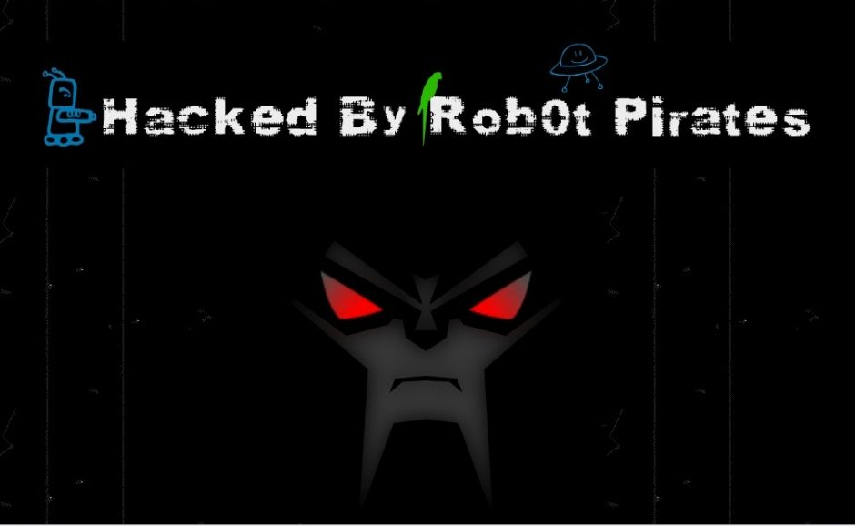 Keylooger Company Website hacked by Robot Pirates