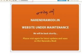 Official Narendra Modi website taken down by ZHC ( Z Company Hacking Crew)