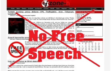 Zone-H banned by Indian ISPs