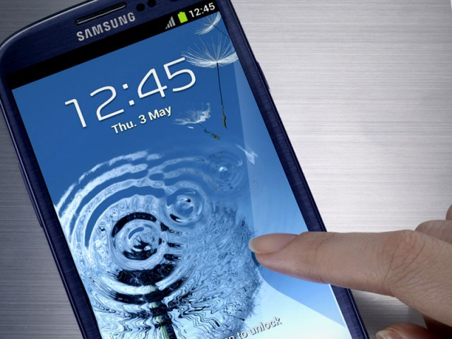 Samsung Galaxy S III will recognize your face (Review)