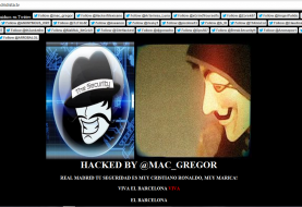 Real Madrid TV Website hacked by Anonymous Mac_Gregor