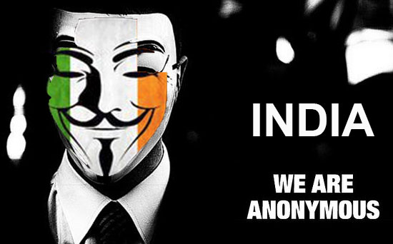#Tango Down: ShivSena website taken down by Anonymous for #OpIndia
