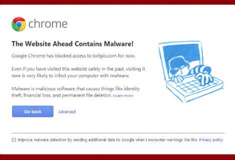 Google Blocks Twitpic for Malware Risk