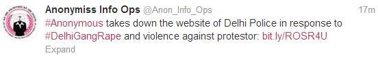 anonymous-india-delhi-police-down
