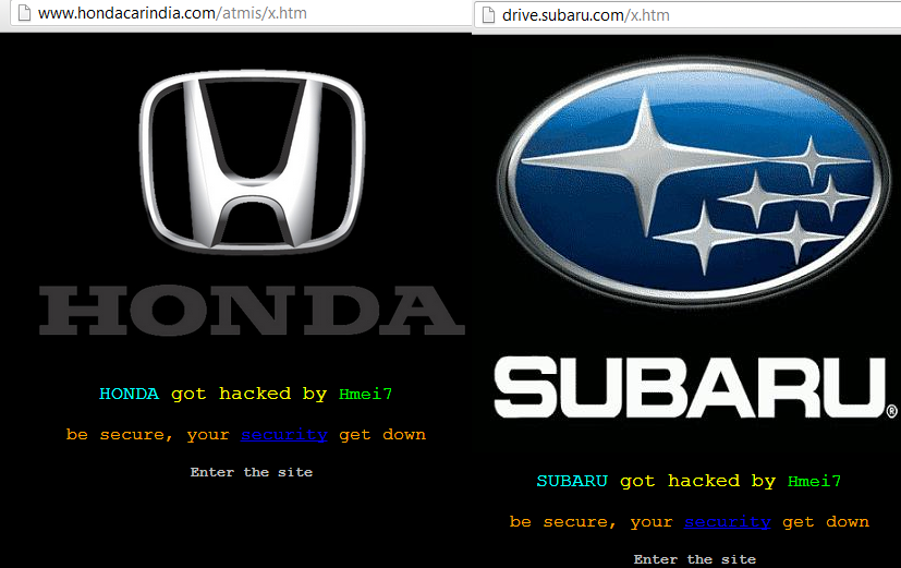 honda-cars-india-hacked-by-Hmei7