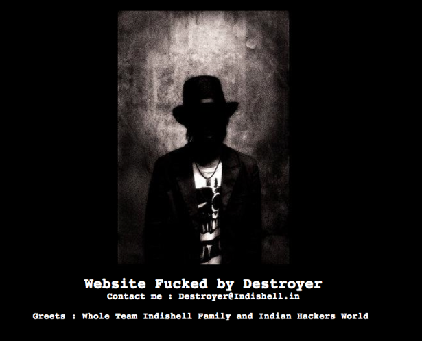 Top Pakistani Government & other 250 Websites Hacked by Indishell