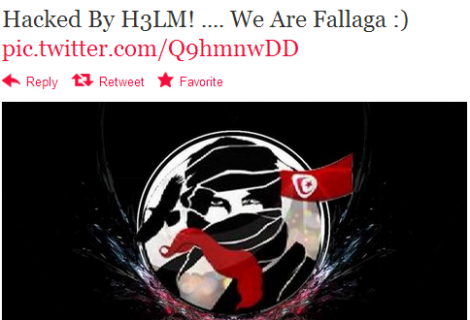 Tel Aviv Police Twitter Account Hacked by Tunisian Hackers