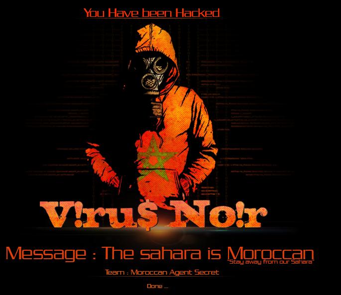 60 Spanish Websites Hacked by Viru$ Noir