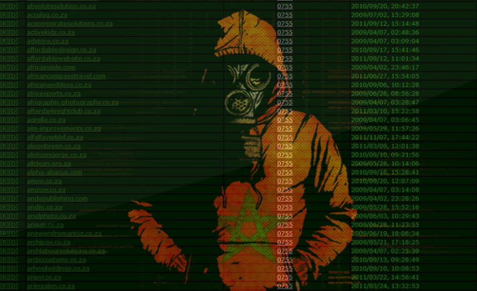 214 South African Websites Defaced by V!rus No!r of Moroccan Agent Secret