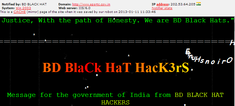 BBHH-Indian-site-hacked