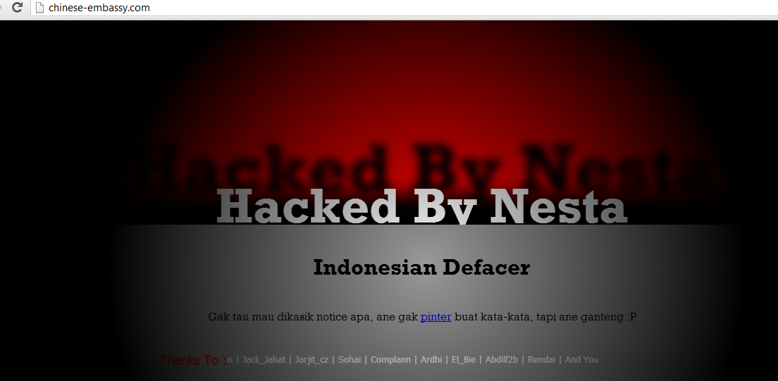 Chinese-embassy-information-site-hacked-by-Nesta-hacker