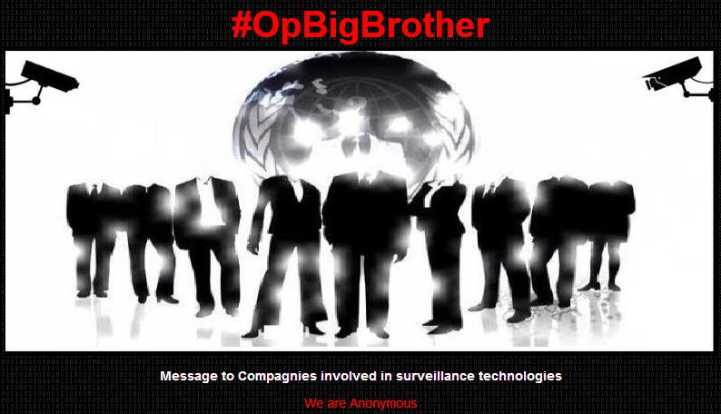 #OpBigBrother-hacking