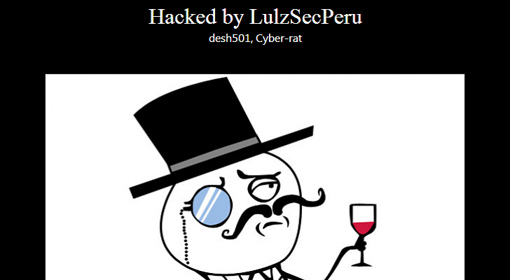 Peruvian Army Website Hacked and Defaced by LulzSec Peru