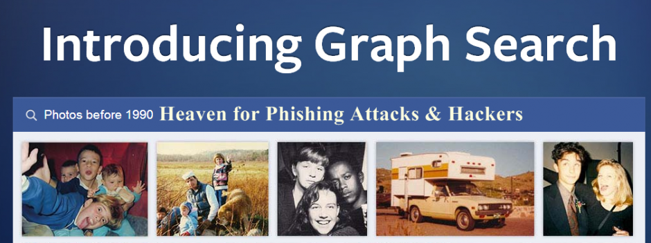 Facebook Graph Search is the best tool for phishing attacks