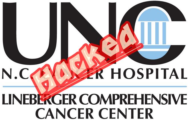 UNC Cancer Center Servers Hacked, 3500 People Info Stolen