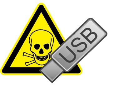 USB-Malware-found