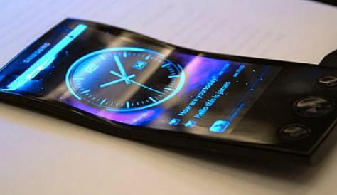 Samsung Unveils Flexible Screens