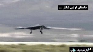 Iran-video of hacked US Drone