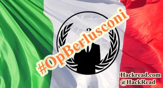 #OpBerlusconi-Anonymous-italy