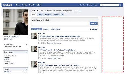 Remove Facebook ads trick