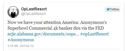 #OpLastResort-twitter-account