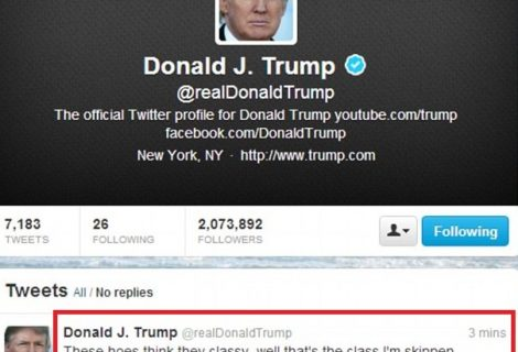 Donald Trumps Twitter Account Hacked