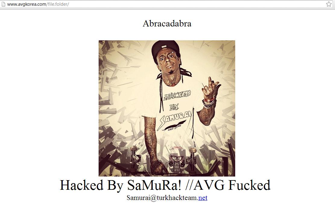 samuraihacker-avg-koria-hacked