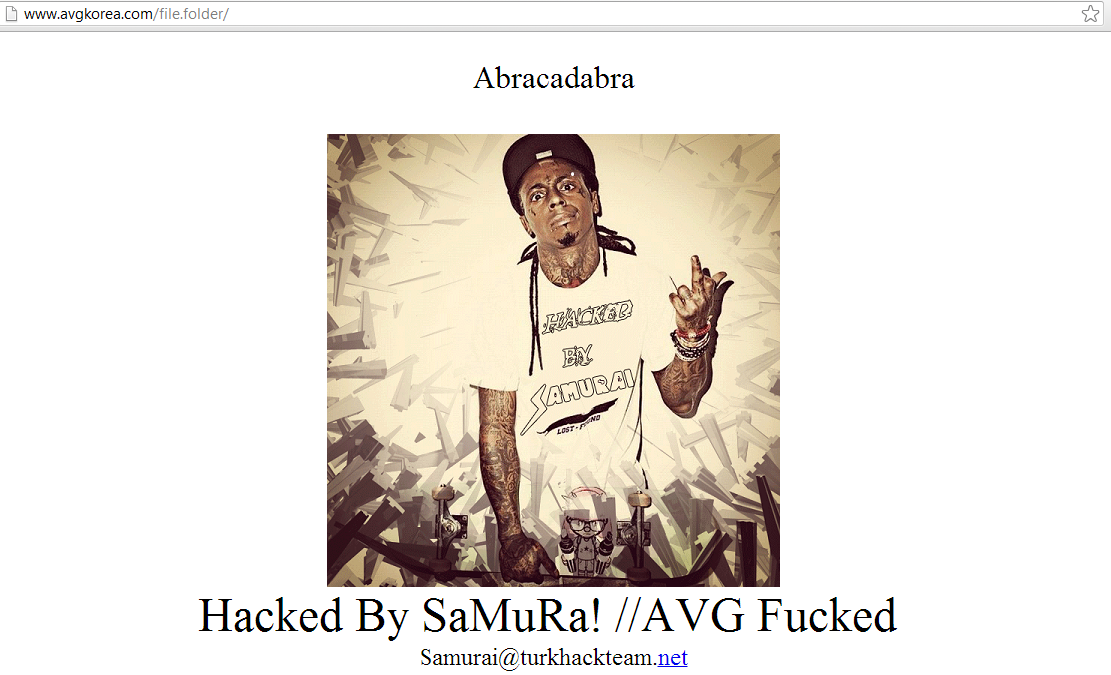 samuraihacker-avg-koria-hacked