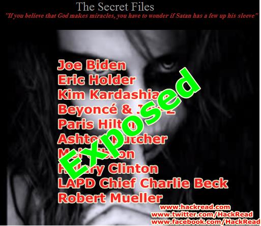 Anonymous Hackers Leak Financial Records of US Vice President Joe Biden, Jay-Z, Beyoncé 9 other High Profile Figures