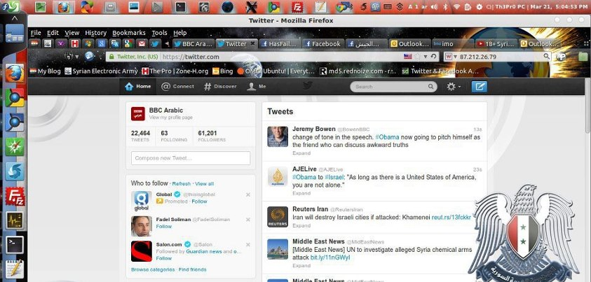 BBC-Arabic-online-twitter-hacked-by-syrian-electronic-army