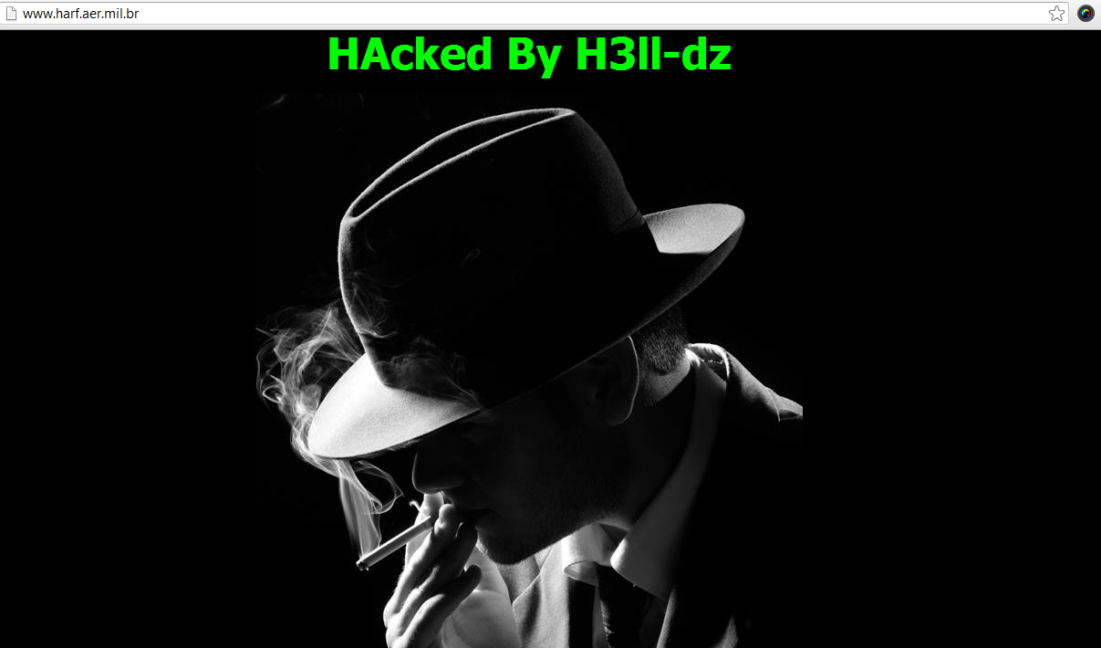 Brazilian Air Force Hospital Website Hacked and Defaced-by-Algerian hacker H3ll-dz, claiming to be a member of LulzSec Philippines