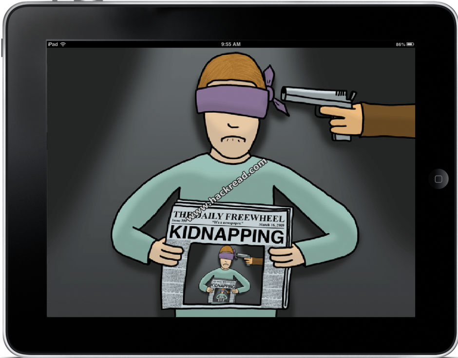 Girl fakes kidnapping for an iPad