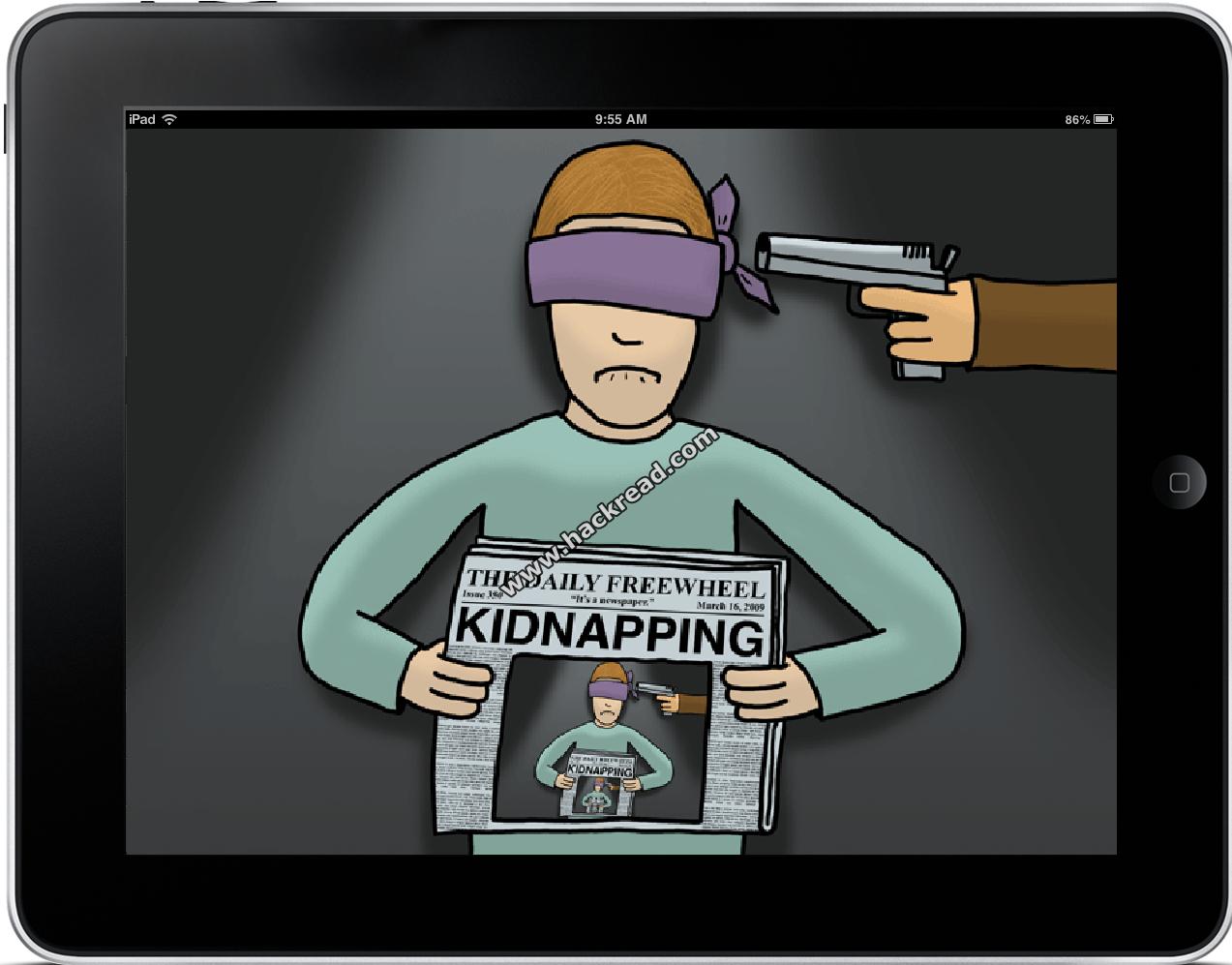 Girl fakes kidnapping for iPad